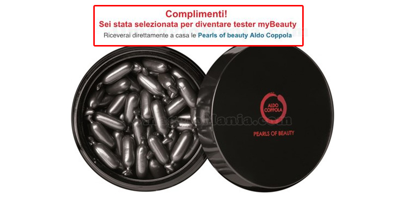 tester Pearls of beauty Aldo Coppola