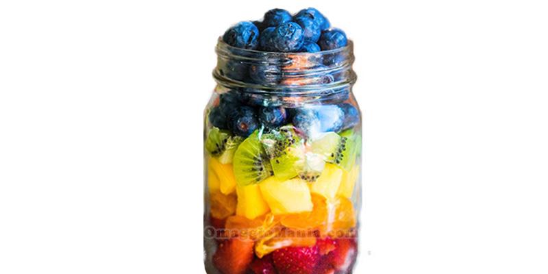 vasetto frutta Del Monte