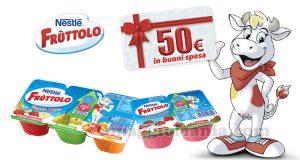 vinci buoni spesa da 50 euro con Nestlè Frùttolo