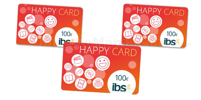 voucher Happy Card IBS 100 euro
