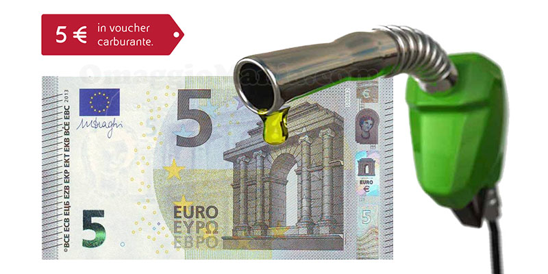 voucher carburante ENI 5 euro
