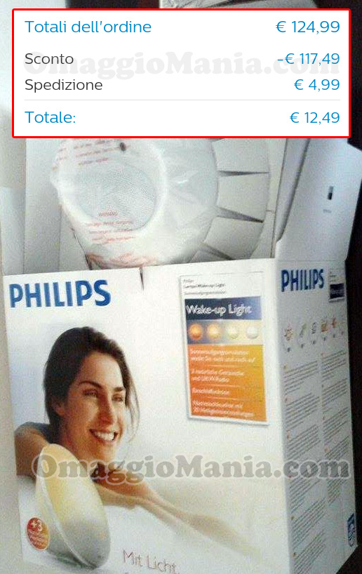 wake-up light Philips di Antonella con totale ordine