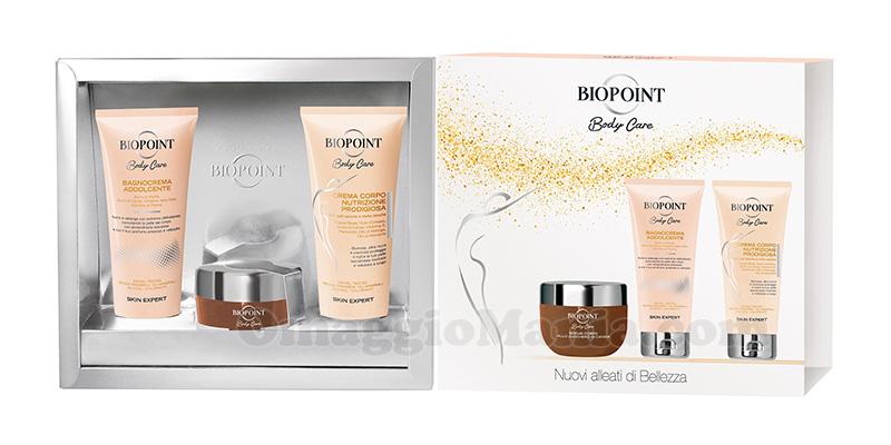 Biopoint Body Care scrub bagnocrema crema corpo