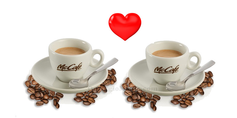 Caffedì McDonald's San Valentino 2017