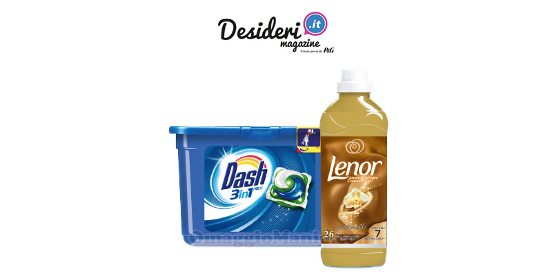 Club dei Desideri tester Dash 3in1 Lenor