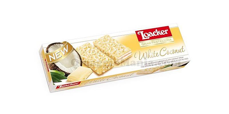 Loacker Gran Pasticceria White Coconut