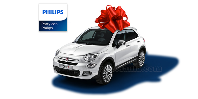Party con Philips vinci Fiat 500X