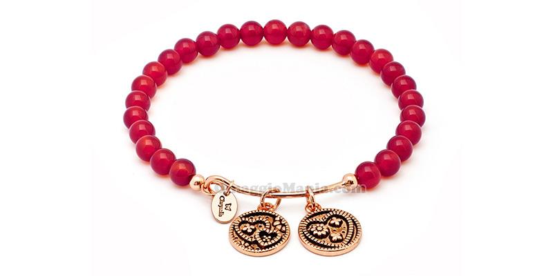 bracciale Chrysalis Tranquility Agata Rossa