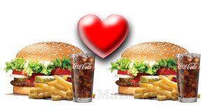 buono sconto Burger King San Valentino 2017
