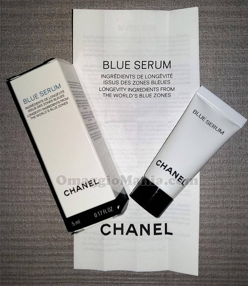 campione omaggio Chanel Blue Serum di Elena