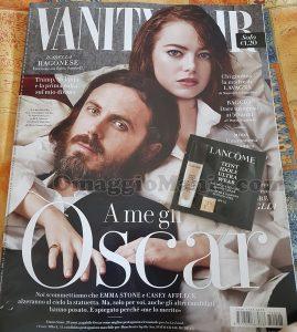 campione omaggio Lancome con Vanity Fair 8 di Rosa