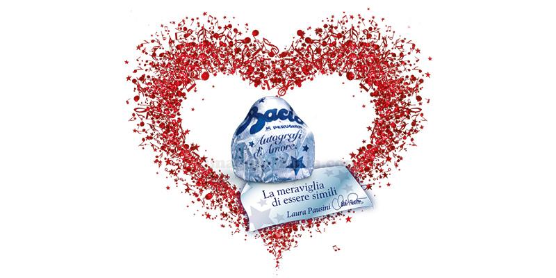 concorso Baci Perugina autografi d'amore di Laura Pausini