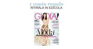 coupon copia omaggio Gioia 8 del 2017