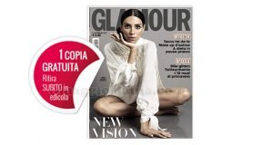 coupon copia omaggio Glamour 296 2017