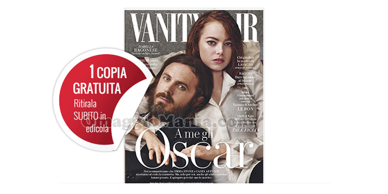 coupon omaggio Vanity Fair 8