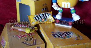 dispenser M&M's Twix di Loretta