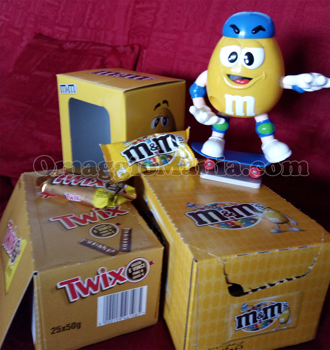 dispenser M&M's Twix di Loretta