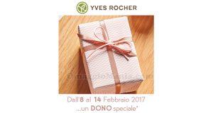 dono speciale Yves Rocher febbraio 2017