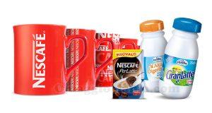 kit Nescafé Latte Candia