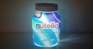 lampada Nutella special edition con vasetto unico di Maria