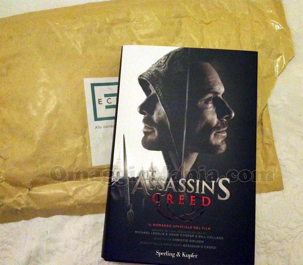libro Assassin's Creed vinto e ricevuto da Simona