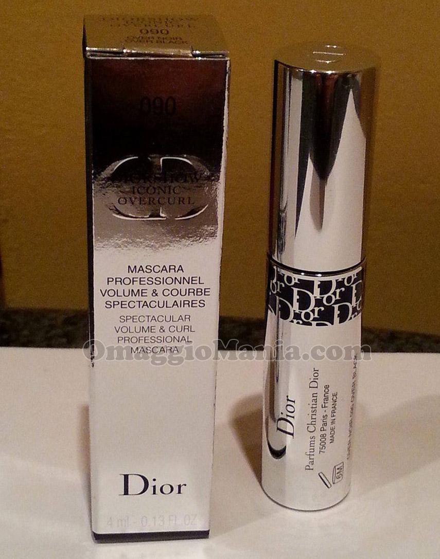 mascara Dior Diorshow Iconic Overcurl di Valentina