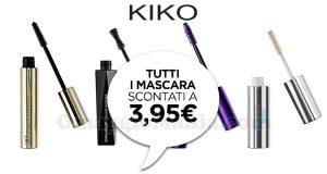mascara KIKO scontati a 3,95€