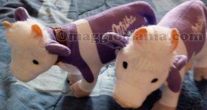 mucche peluche Milka di Antonella