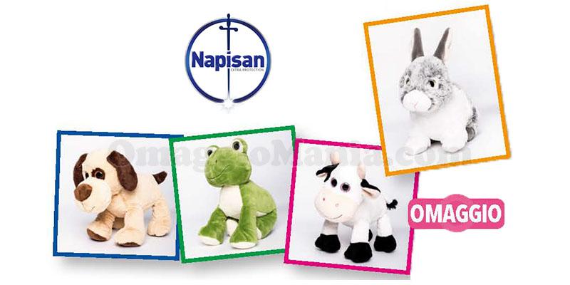 peluche omaggio con Napisan