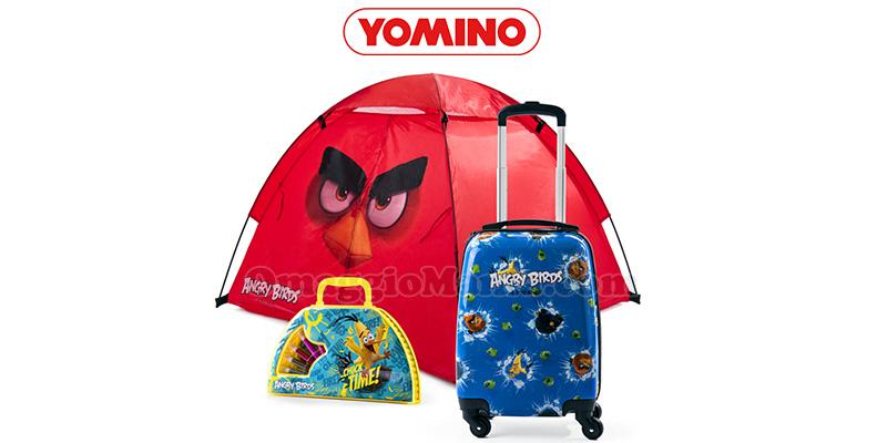 raccolta punti Yomino 2017 Angry Birds