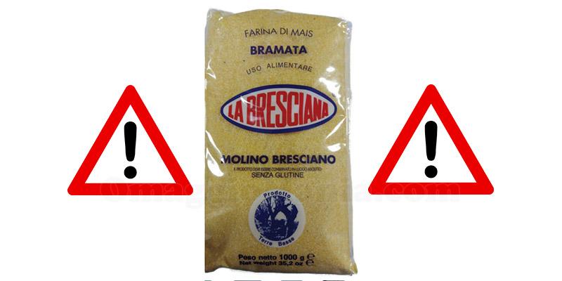 ritiro farina di mais bramata Molino Bresciano
