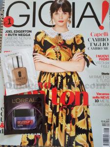 rivista Gioia 7 del 2017 di Rosa
