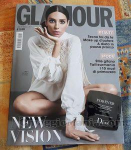 rivista Glamour 296 di Rosa con campione omaggio Dior