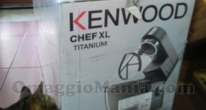 robot da cucina Kenwood Chef XL Titanium di Maria