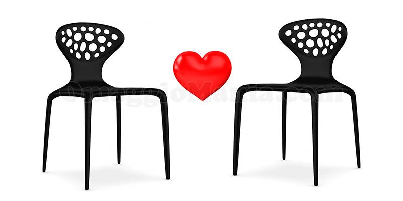 sedie Supernatural Moroso per San Valentino