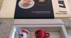set tazzine Lavazza History Collection di Angela