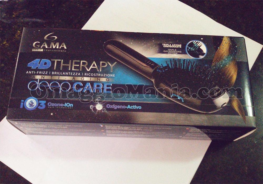 spazzola lisciante Gama 4D Therapy di Vanessa