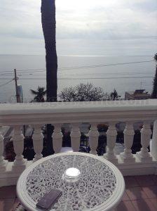 vista dall'hotel di Sanremo