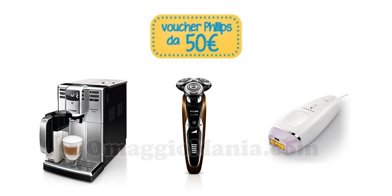 voucher Philips da 50 euro febbraio 2017