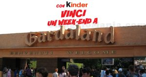 Con Kinder vinci un weekend a Gardaland