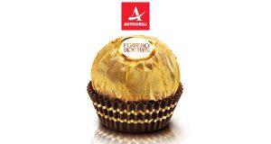 Ferrero Rocher omaggio da Autogrill