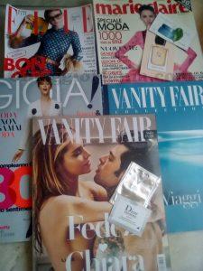 Gioia, Marie Claire, Elle e Vanity Fair gratis di Arya