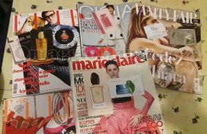 Gioia, Marie Claire, Elle e Vanity Fair gratis di Nadia