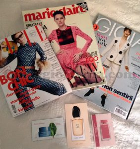 Gioia, Marie Claire, Elle gratis di Simona