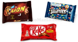 Lion, Smarties, KitKat