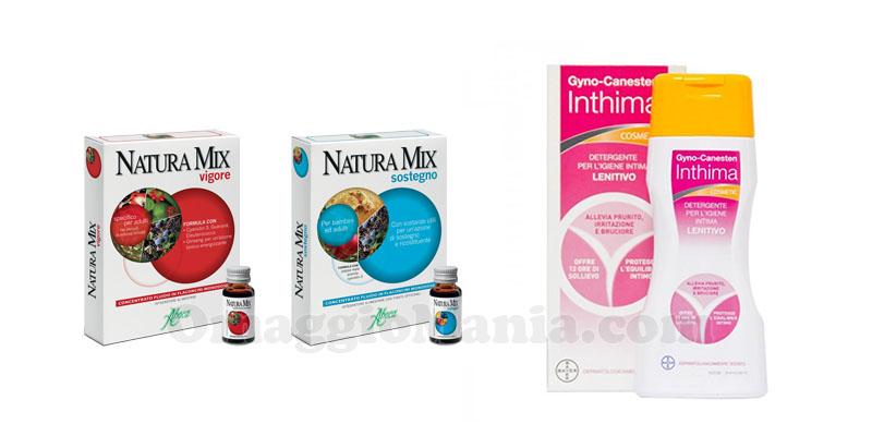 Natura Mix e Gyno-Canesten Inthima