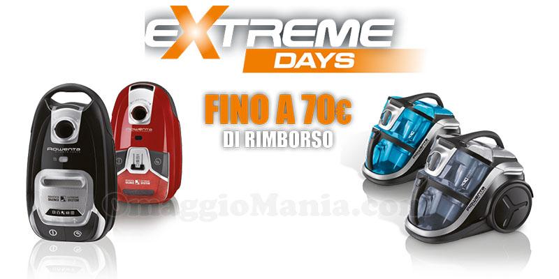 Rowenta Extreme Days Primavera 2017