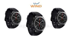 Samsung Gear S3 frontier con Wind