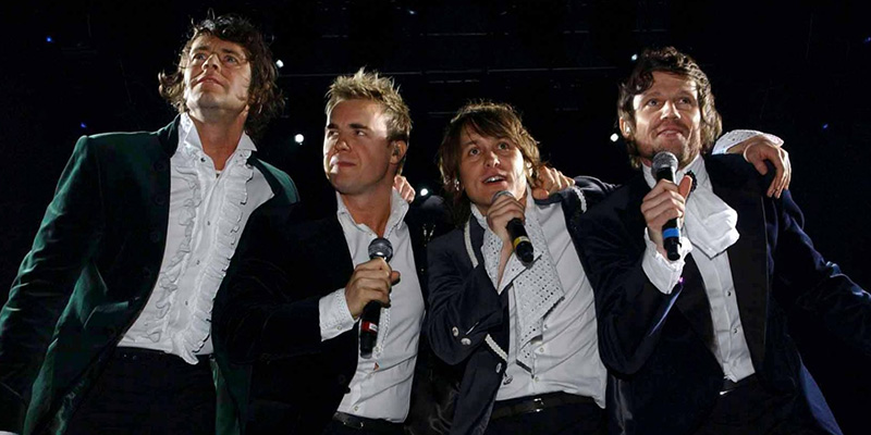 Take That in concerto