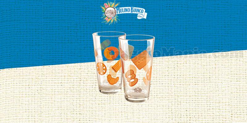 bicchieri Mulino Bianco da Carrefour